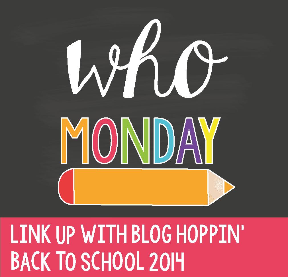 Blog Hoppin' Teacher Week: Who