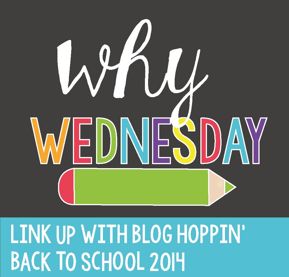 Blog Hoppin' Teacher Week: Why