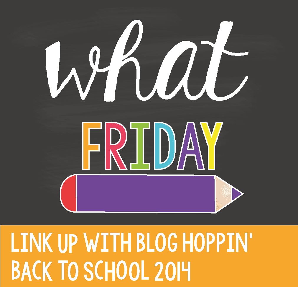 Blog Hoppin' Teacher Week: What Friday, and freebies!