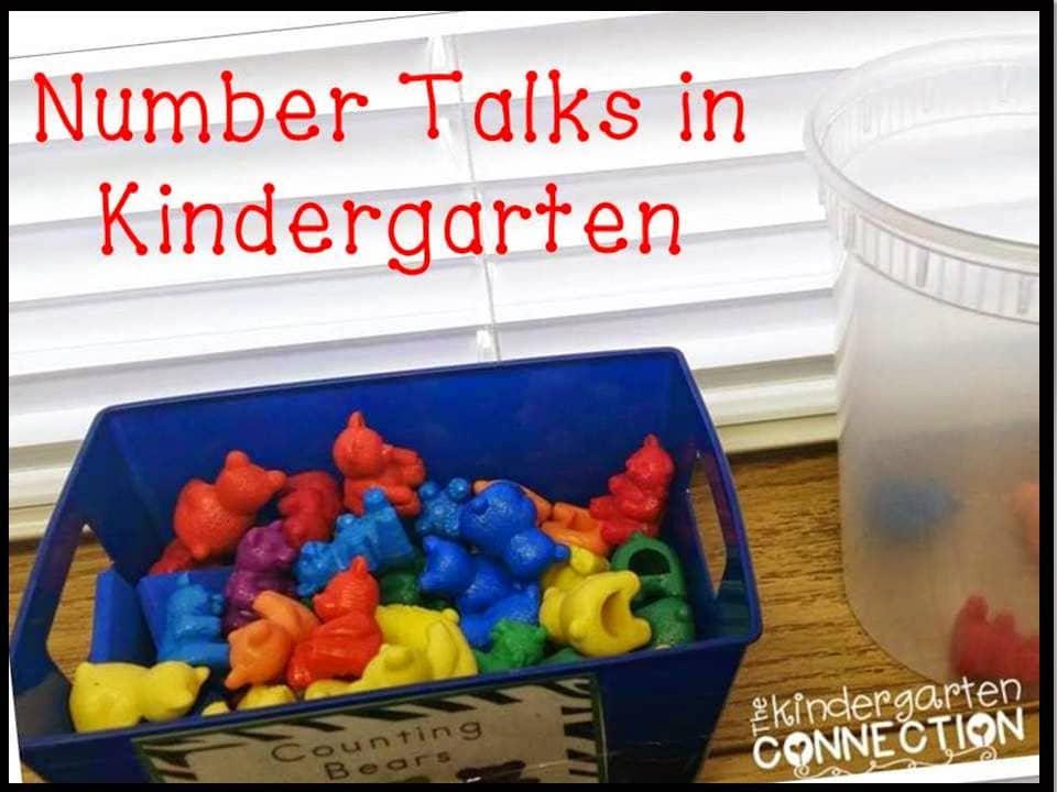 Number Talks in Kindergarten