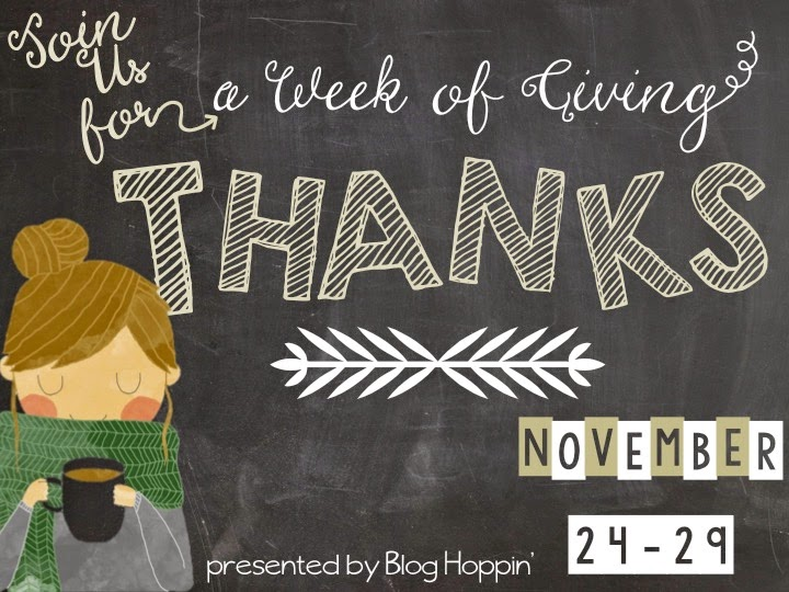 Week of Giving Thanks – H is for…