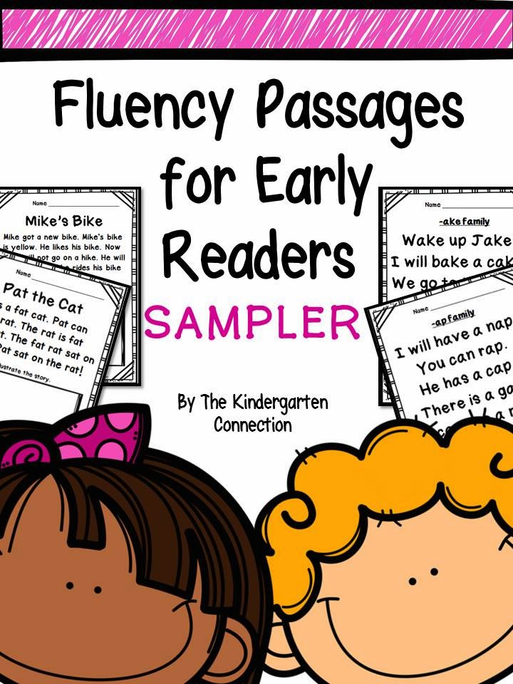 Building Fluency in Early Readers (and freebies!) - The ...