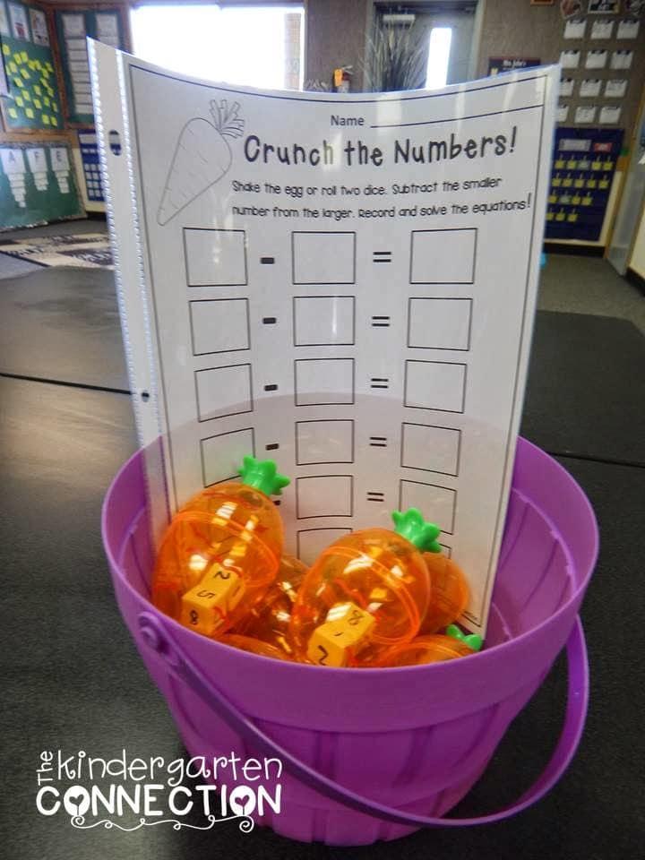 Spring Math FREEBIES! - The Kindergarten Connection
