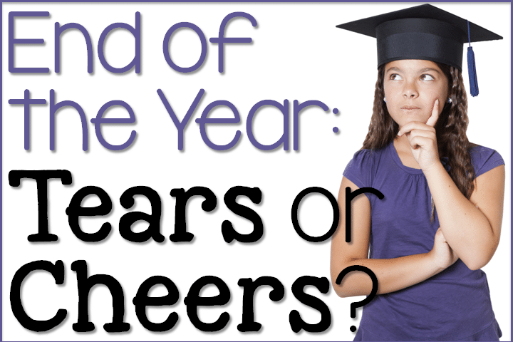 end of year cheers or tears