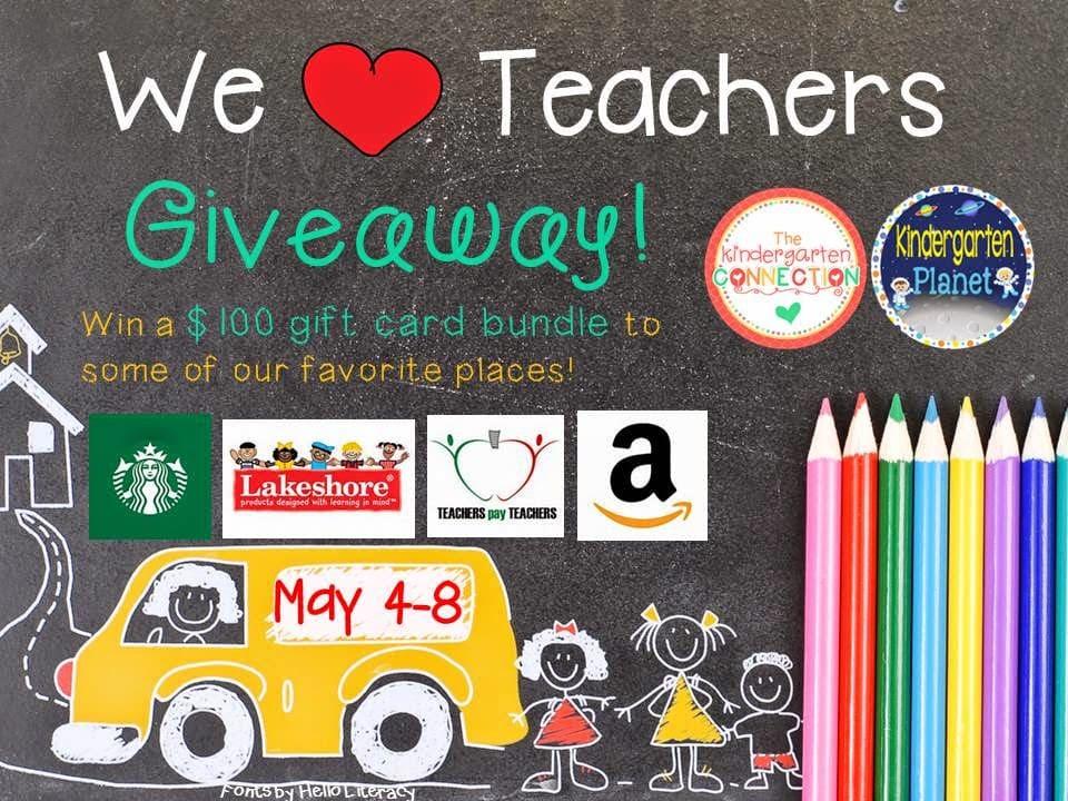 We Love Teachers Giveaway!