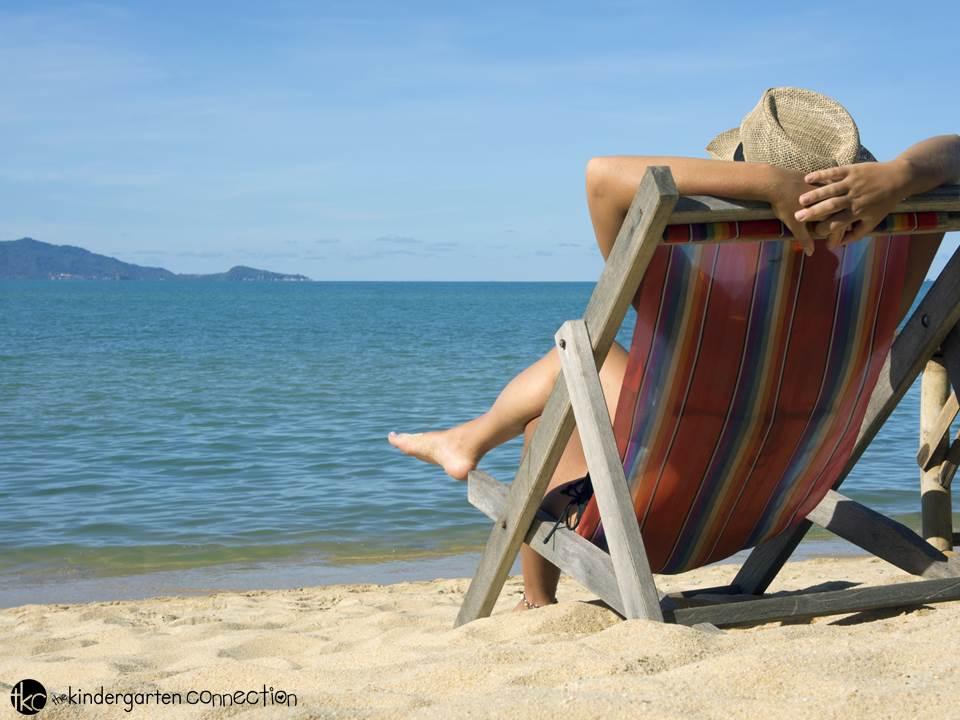 A Teacher's summer relaxation