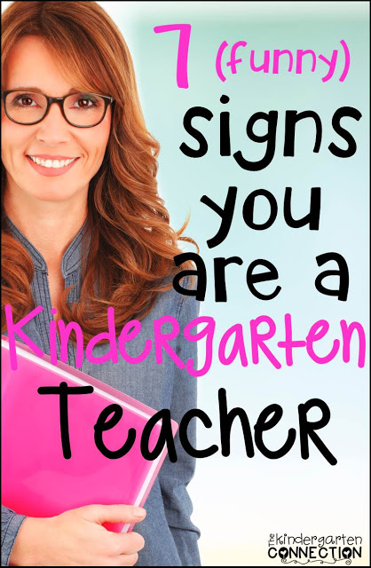 Signs you are a teacher