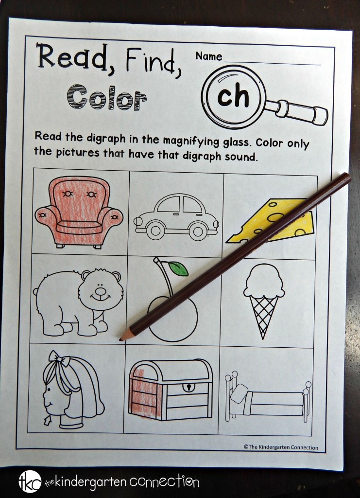 Digraph freebies - CH