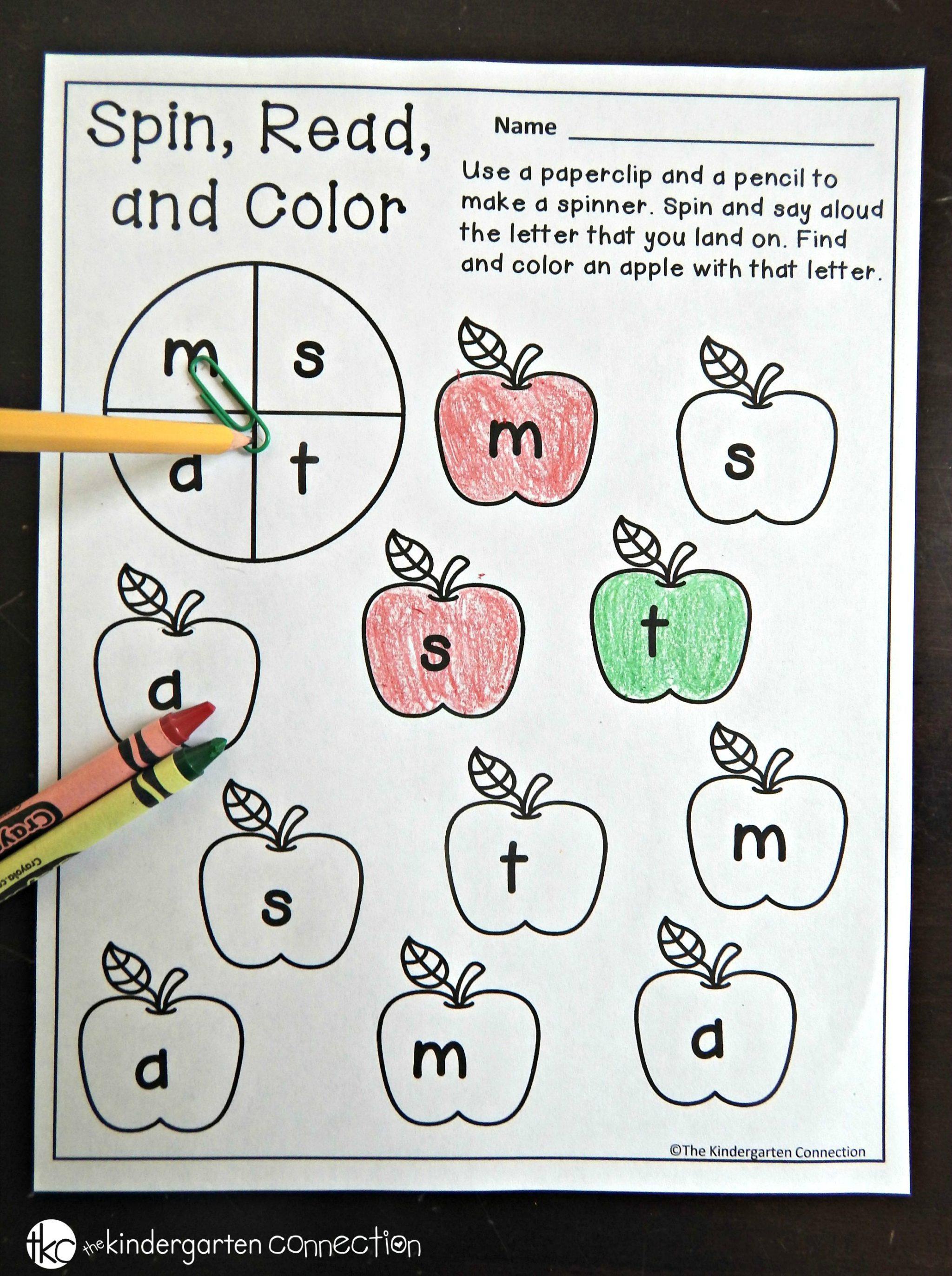 Back To School Printables The Kindergarten Connection