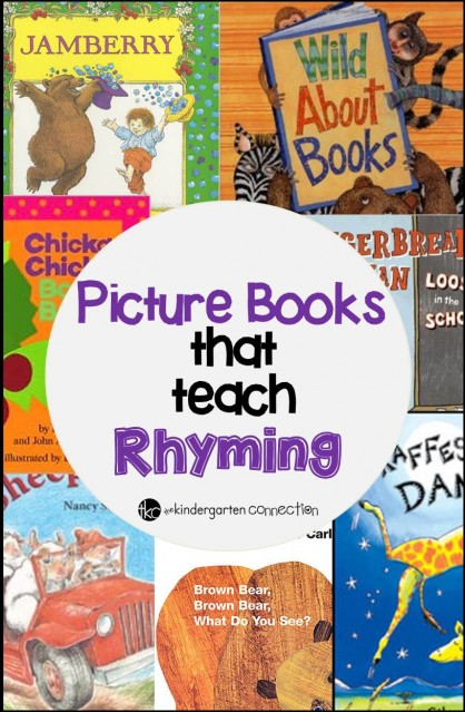 Picture Books that teach Rhyming