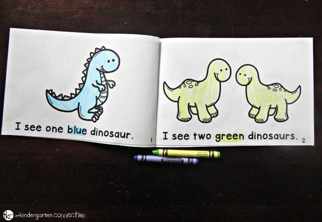 dinosaur emergent reader