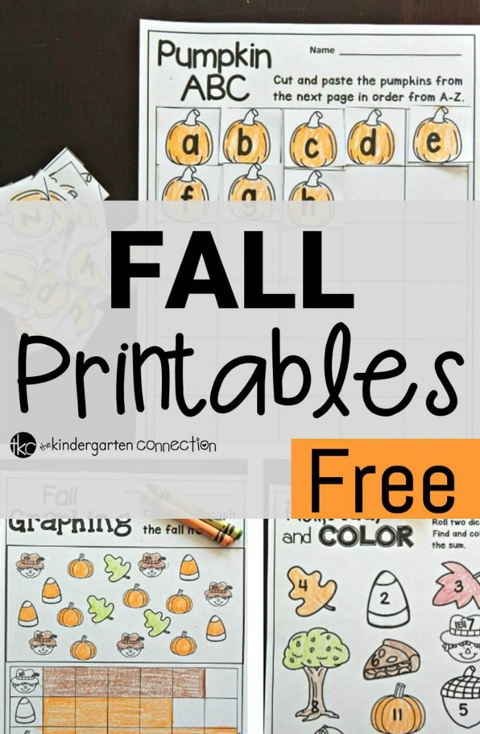 This is an image of Rare Free Fall Printables