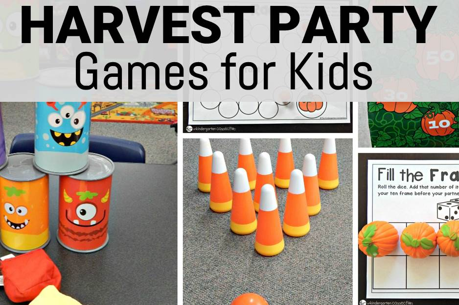5 Harvest Party Games for Kids