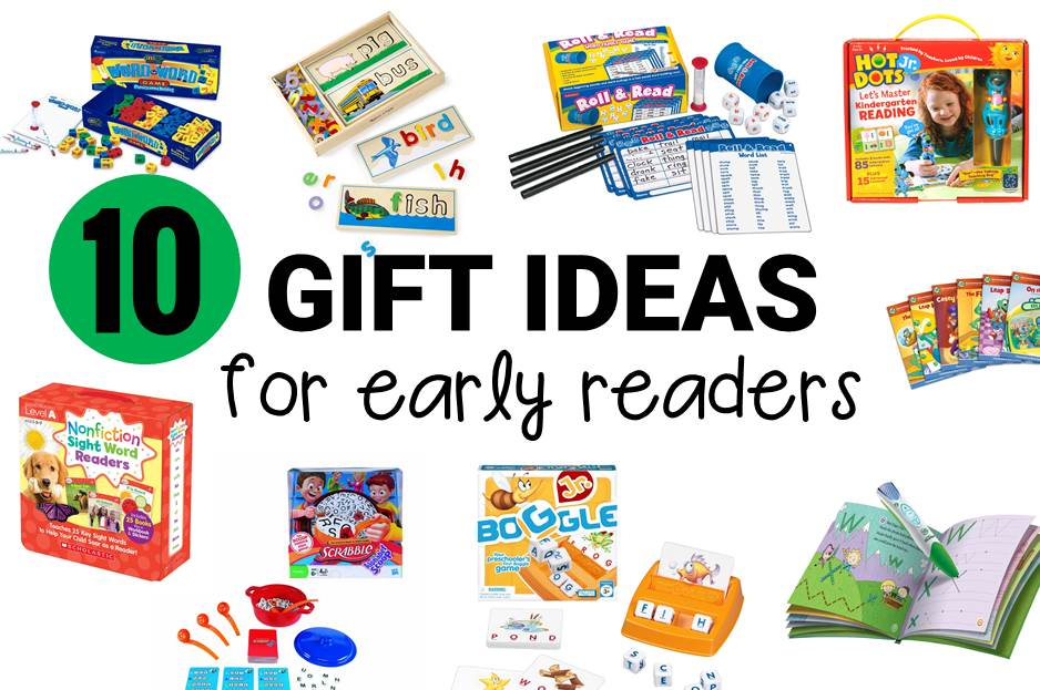 10 gift ideas for early readers main image
