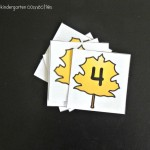 alphabet and number cards