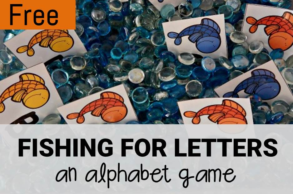 Fishing for Letters! An Alphabet Game