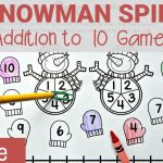 Snowman Addition Game