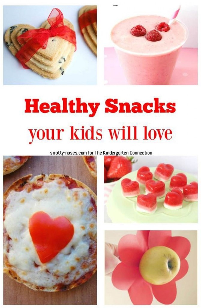 10+ super tasty and fun Valentine's Day snacks for kids!