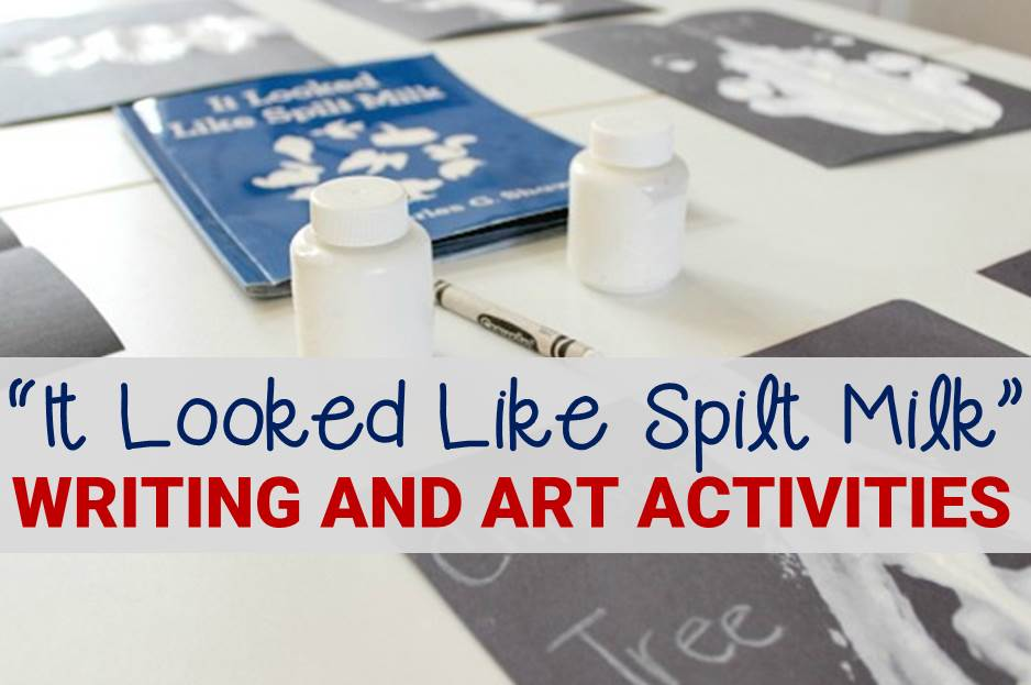 """It Looked Like Spilt Milk"" Writing and Art Activity"