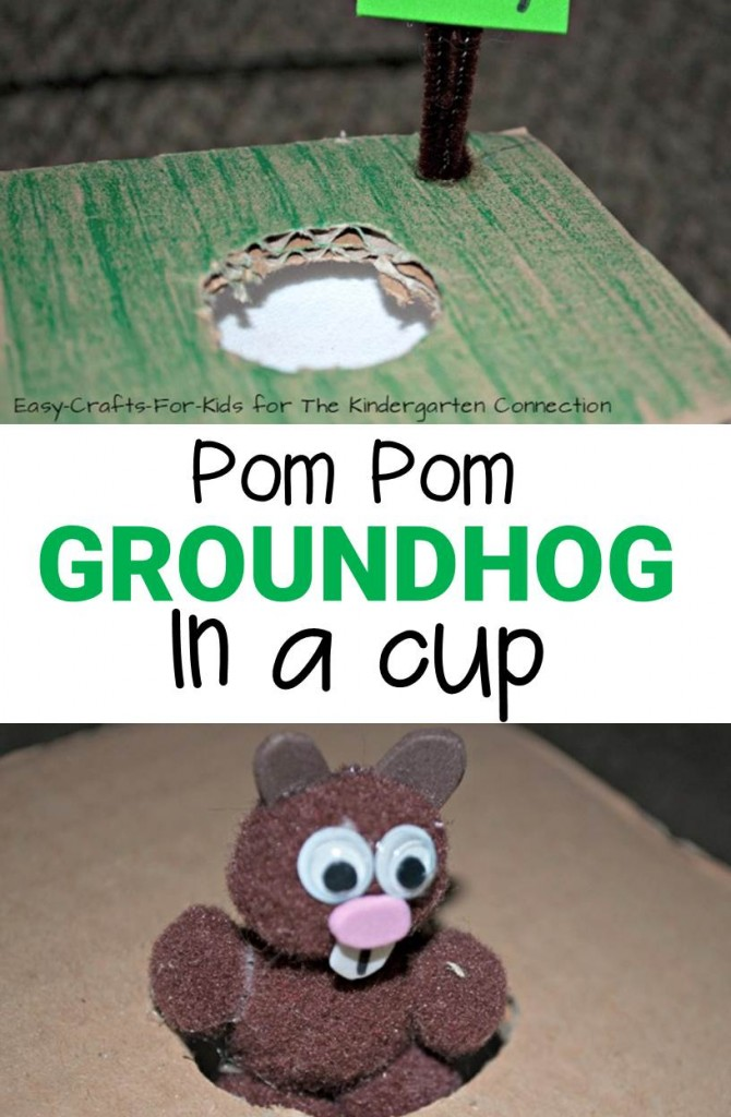 Have a blast this February 2nd with this easy and fun groundhog day craft for kids!