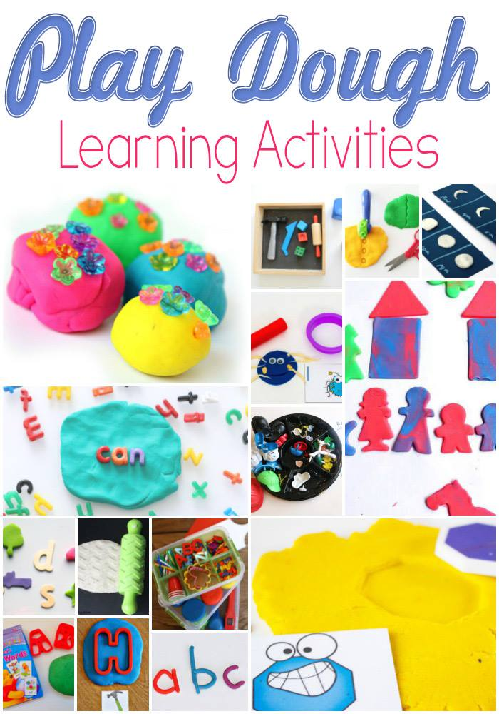 A list of super fun, must try play dough learning activities!