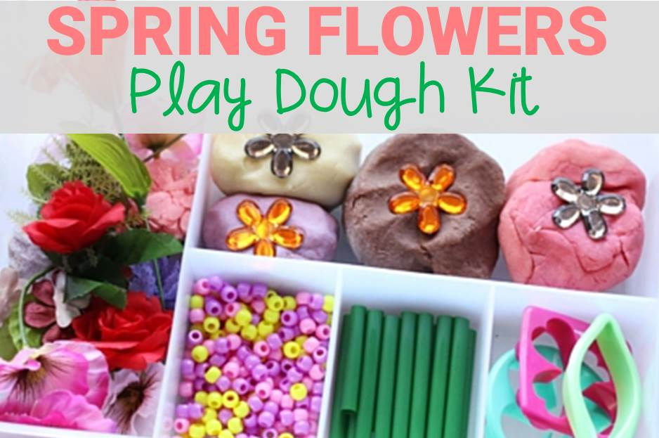 Spring Flowers Play Dough Kit