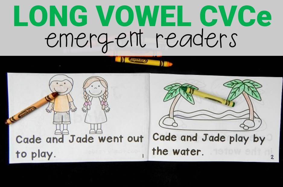 Long Vowel CVCe Emergent Readers