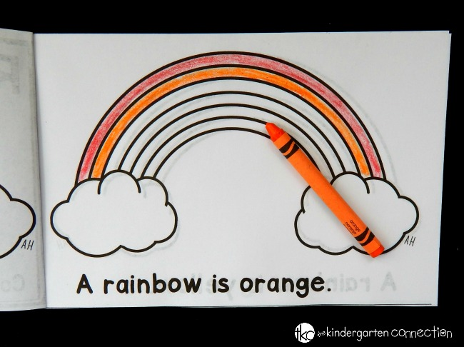 This rainbow emergent reader is perfect for spring! Work on color words and sequencing with this fun and free printable reader!