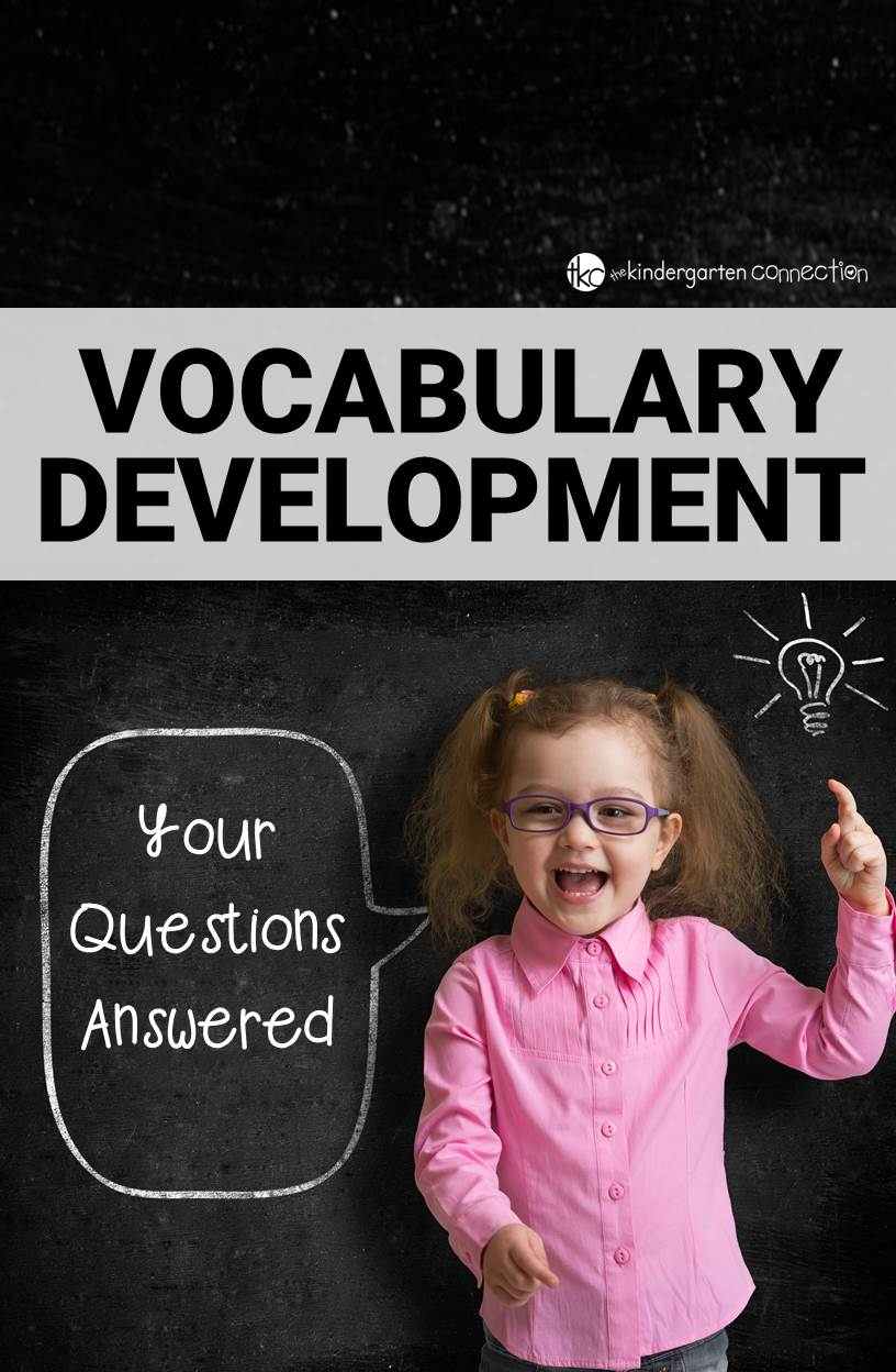 Vocabulary development is a critical part of reading success that goes hand in hand with comprehension. Vocabulary development can be hard to understand, but this post answers your questions!