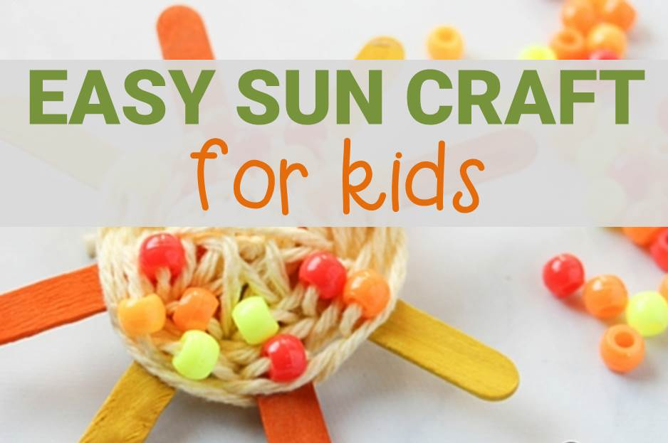 easy sun craft for kids