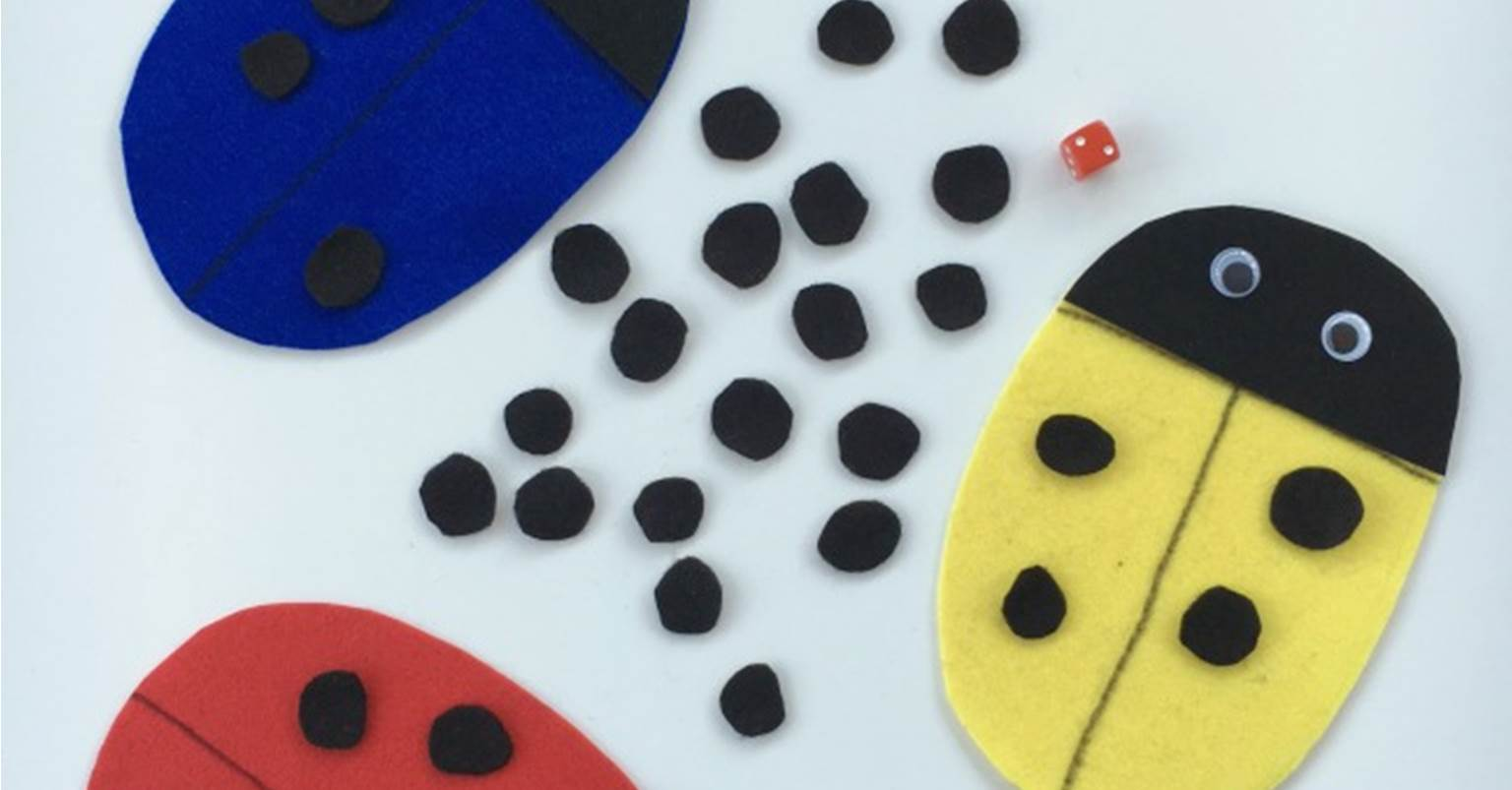 Classroom Game Ideas For Kindergarten ~ Roll a ladybug dice game the kindergarten connection