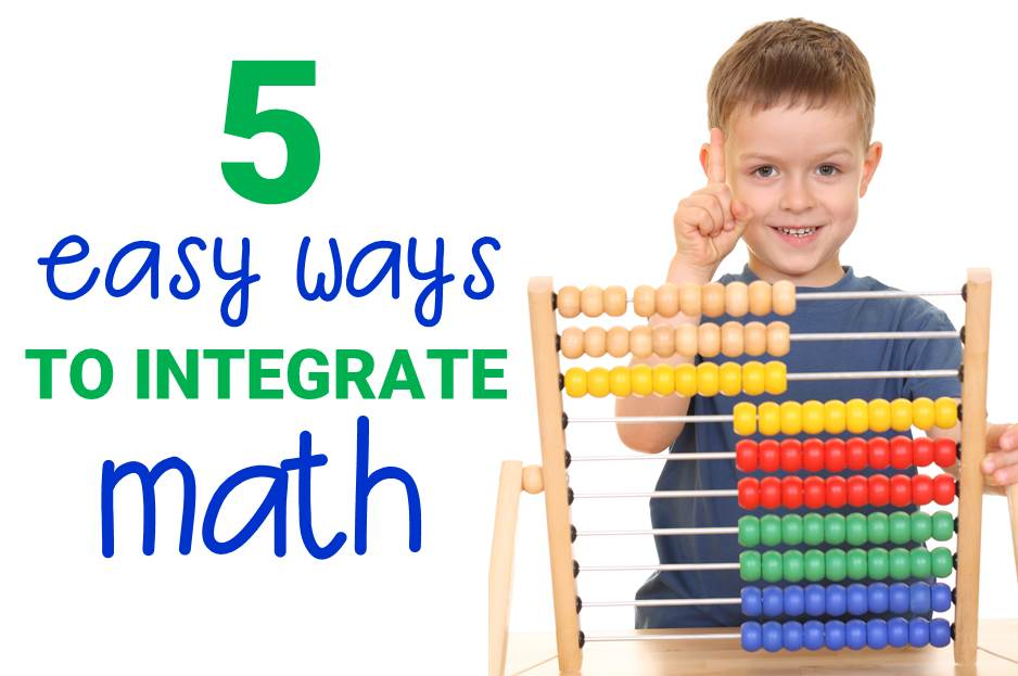 Five Easy Ways to Integrate Math