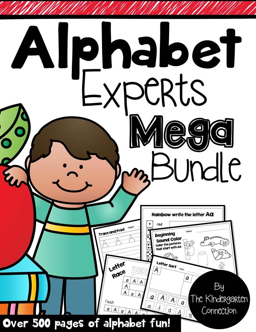 Alphabet Experts Mega Bundle Cover