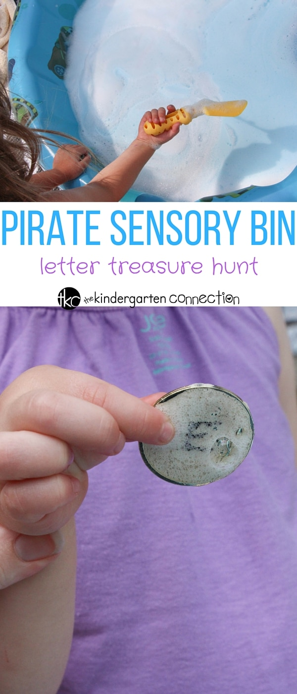 This pirate themed treasure letter hunt is so fun for preschoolers and kindergarteners! Work on upper and lowercase letters, or any skills you like!