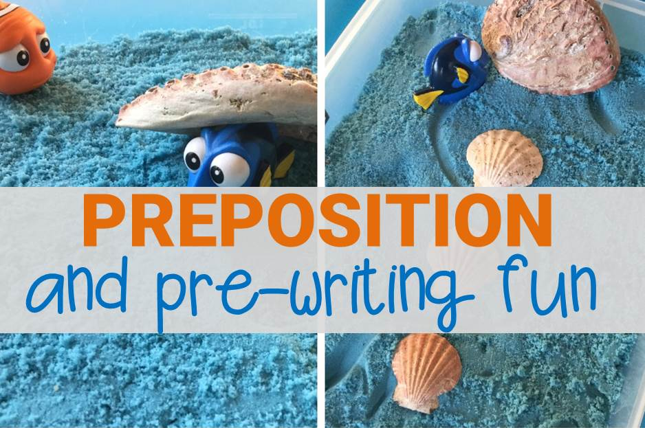 Preposition and Pre-Writing Activity