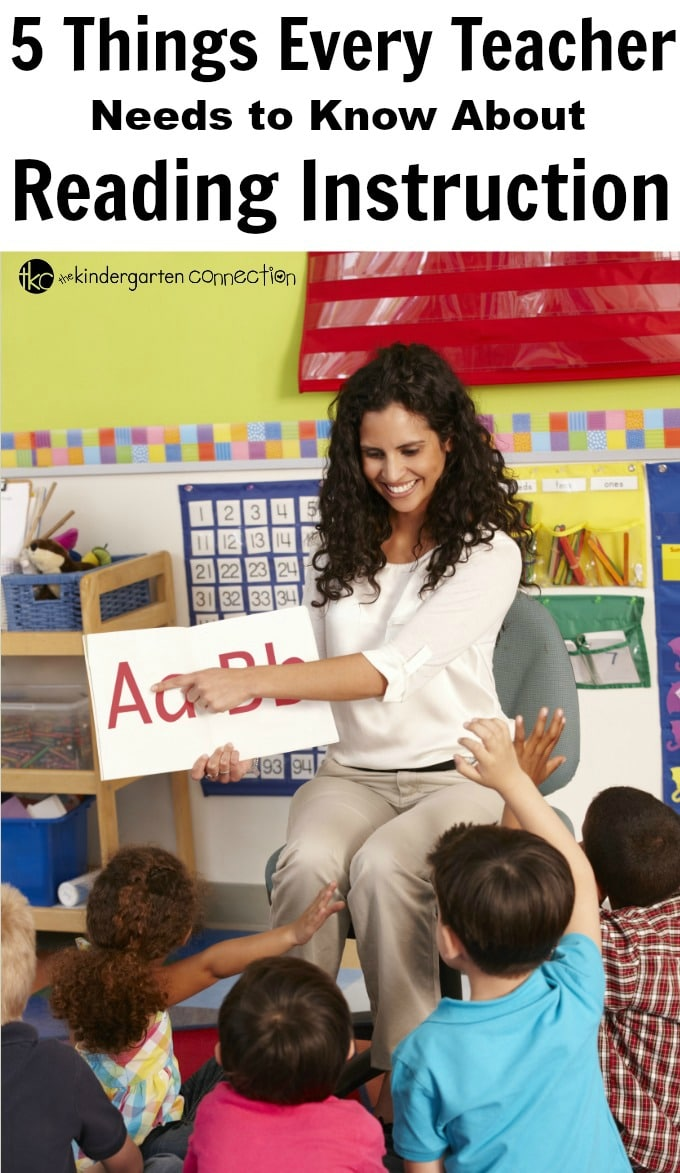 5 Things Every Teacher Needs to Know About Reading Instruction (2)