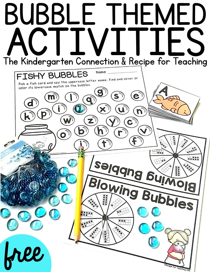These fun and free activities use gems from the dollar store and are perfect for preschoolers and kindergarteners!