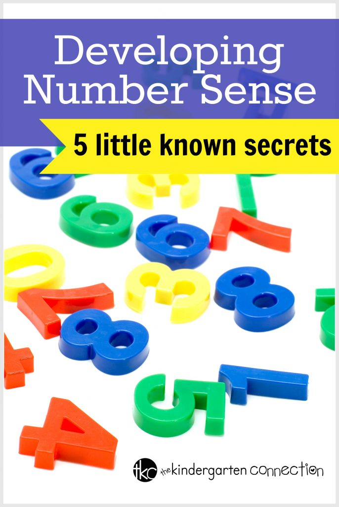 What is number sense and how do you develop it in students? Tons of tips and tricks are here for building number sense skills in kids!