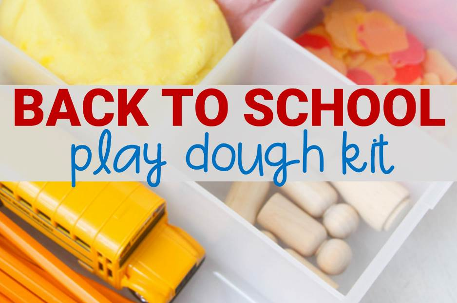 Back to School Play Dough Kit