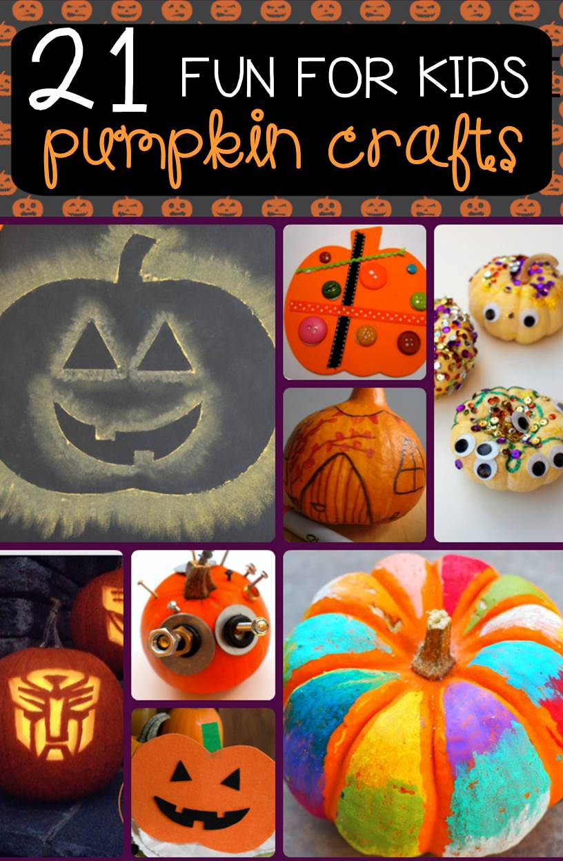 Fun fall kids crafts! These adorable and fun pumpkin crafts for kids are perfect to try this fall in your classroom or home!