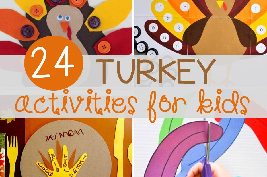 24 Turkey Activities for Kids