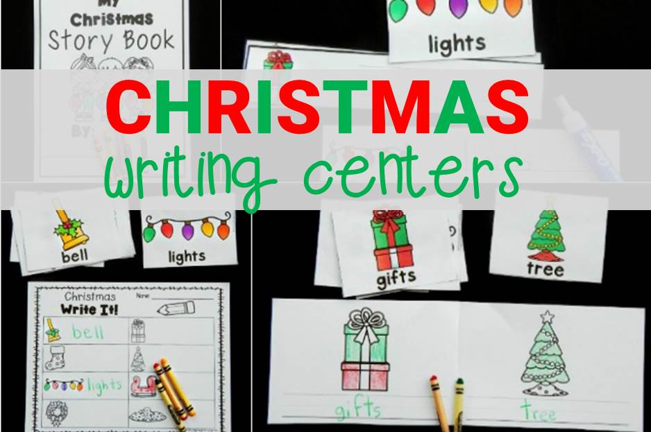 Christmas Writing Centers