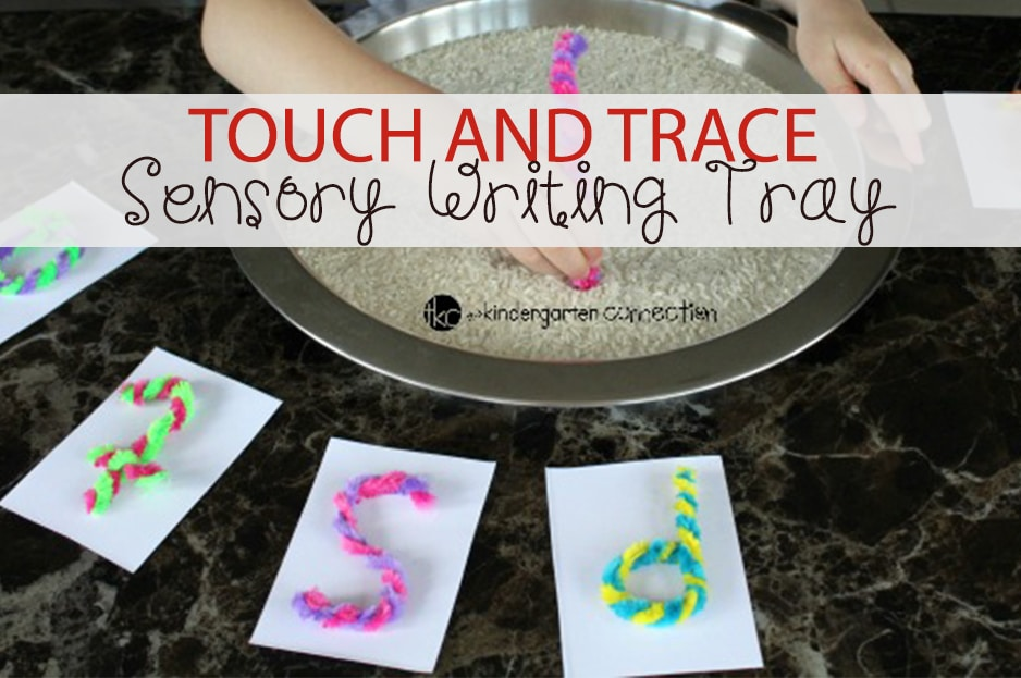 Touch and Trace Sensory Writing Tray