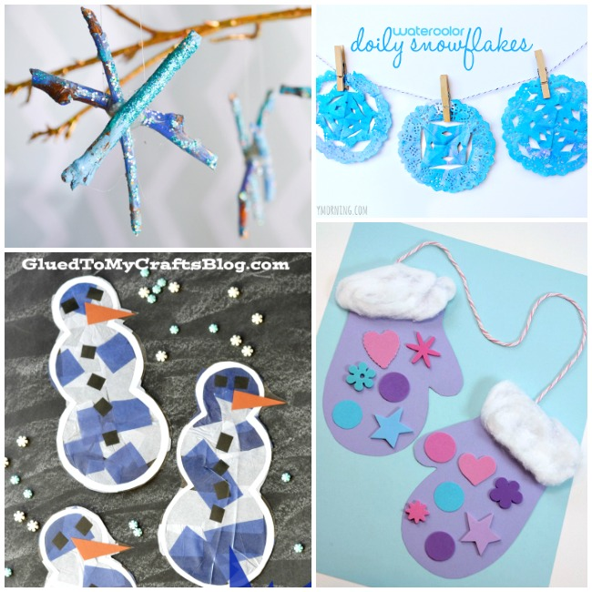 The temperatures are dropping, which means now is the best time to start gathering ideas for kids winter crafts and activities! Here are 50+ winter activities for kids.