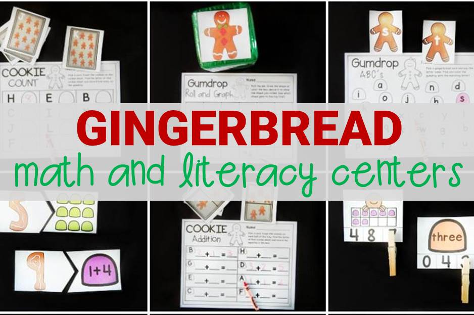 Awesome Gingerbread Activities and Centers