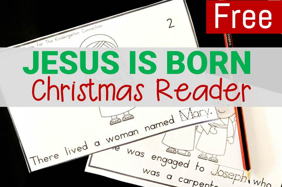 Jesus is Born – Printable Christmas Reader