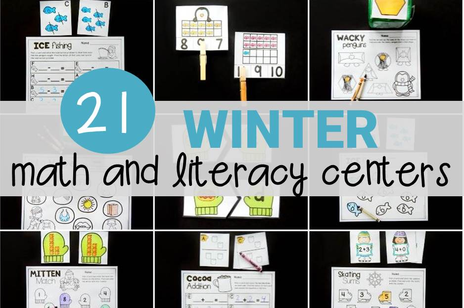21 Totally Cool Winter Centers and Activities