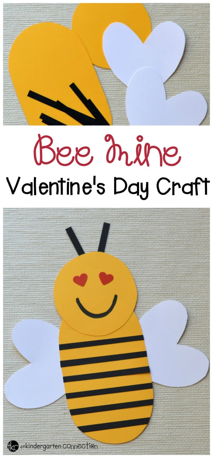 Kids will be buzzing with excitement as they create this paper Valentine's Day bee. Enjoy this cute Valentine's Day Craft for kids!