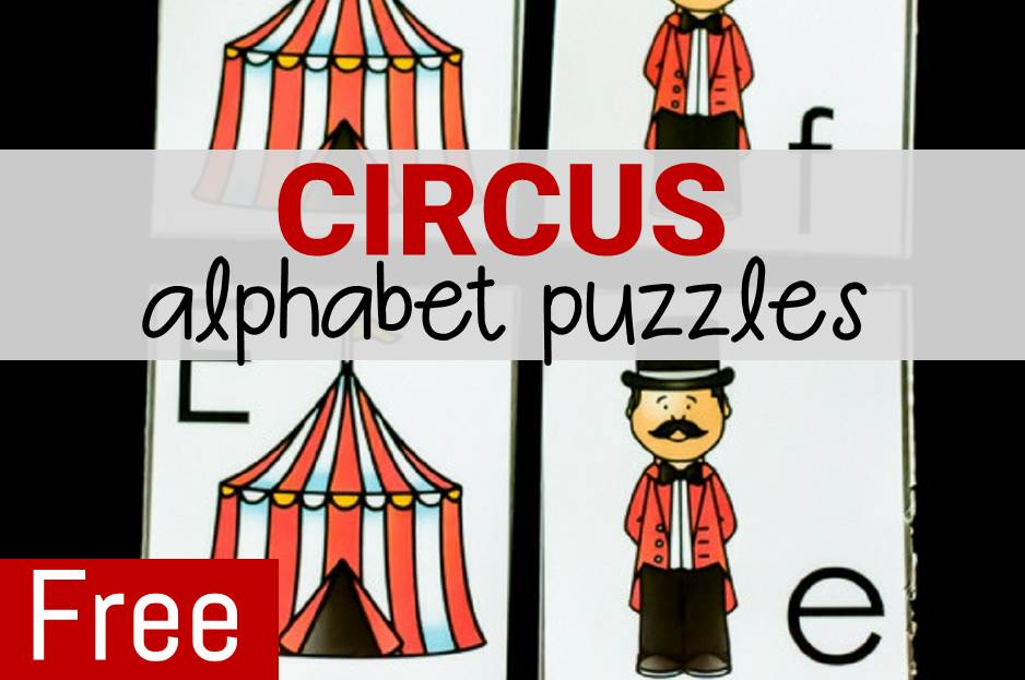 Circus Alphabet Puzzles