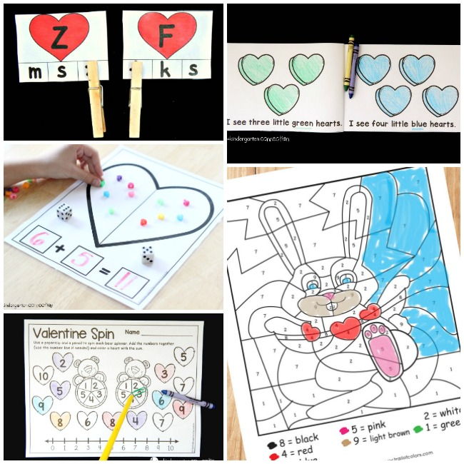 Love will be in the air soon so now is a great time to start gathering ideas for kids Valentines Day Crafts and Activities!